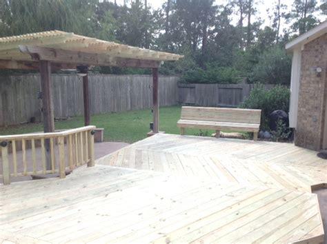 wood deck builders in galveston we construct