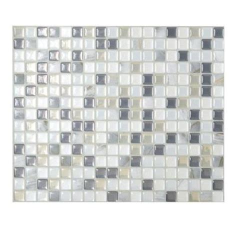 smart tiles minimo noche 9 64 in x 11 55 in adhesive