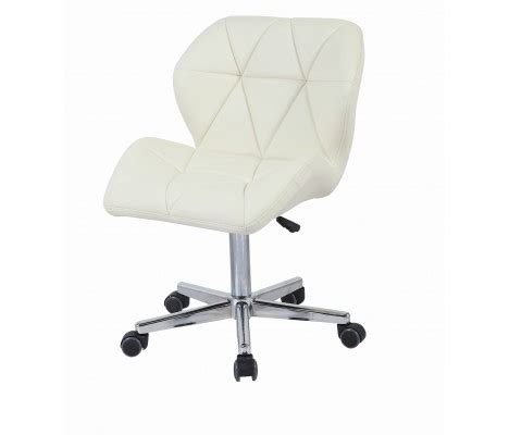 modern uranus padded swivel faux leather computer desk office chair