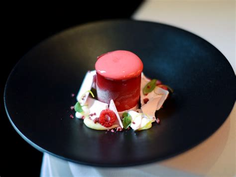 dessert at cafe boulud captures the taste of
