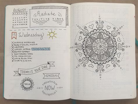 Bullet Journal One Month Update  Boho Berry