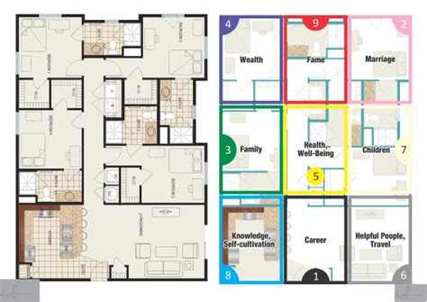 Map Out Your Bedroom Feng Shui-home Delightful