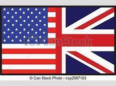 Illustration amérique, britannique, drapeau Banque d