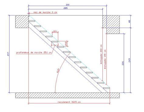 besoin d aide pour calculer un escalier droit