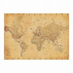 Xxl Poster Kaufen : weltkarte xxl poster world map vintage style xxl poster jetzt im shop bestellen close up gmbh ~ Markanthonyermac.com Haus und Dekorationen