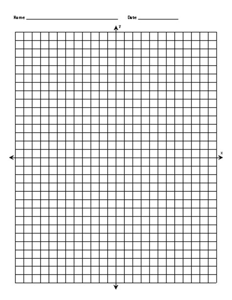 Blank Coordinate Graph Paper Worksheets For All  Download And Share Worksheets  Free On