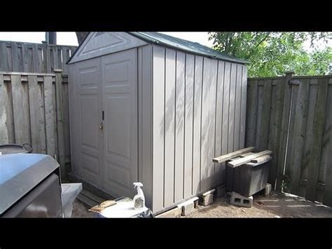 rubbermaid 7x7 shed assembly storage shed deals