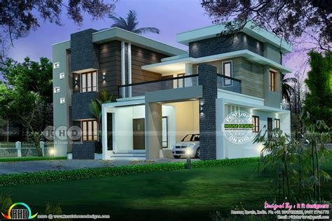 house plans and design contemporary house plans with june 2017 kerala home design and floor plans