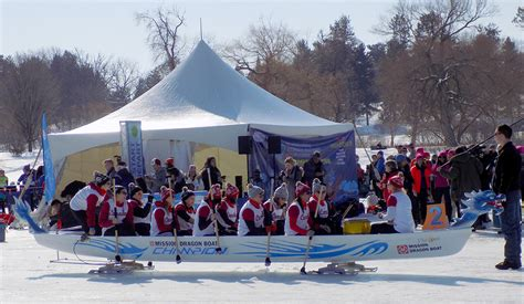 Ottawa Dragon Boat Festival 2017 Photos by Dragon Boat Racing On Ice Caps Winterlude In Ottawa 171 All In