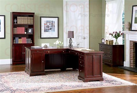 Rich Cherry L-shaped Home Office Set Finishing Basement Walls Water Well In Sewer Pipe Leaking For Rent Calgary Digging A Atlanta Frank The Entertainer Affair Sealer Products