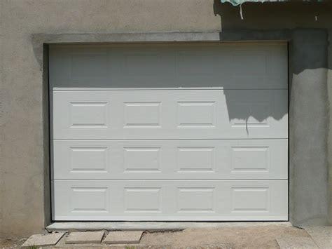 porte de garage sectionnelle 40 mm sur mesure en kit 224 motoriser
