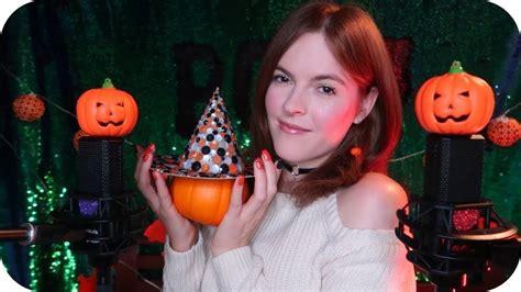 Asmr 👻 Halloween Trigger Words & Textures (pumpkins, Plastic, Vinyl, Wood, +) 🎃 Youtube
