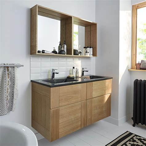 castorama meuble de salle de bains fr 234 ne 120 cm essential ii 740 euros avec plan vasque