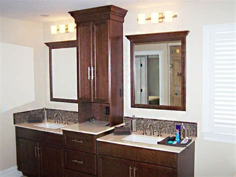 bathroom vanities with towers vanity with