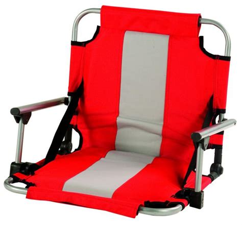 stansport stadium seat with arms
