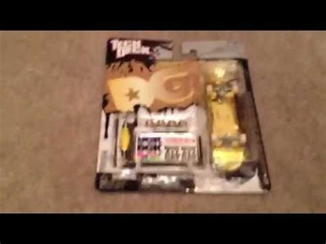 gold dipped dgk tech deck unboxing