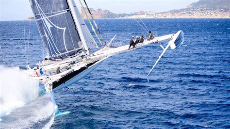 Catamaran Around The World Race by The World S Fastest Sailing Multihulls Sail Magazine