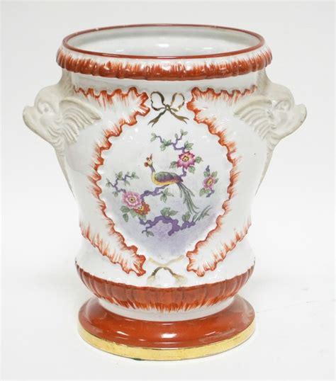 pate de limoges couleuvre porcelain vase with dolph