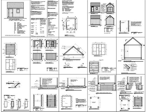 shed plans 8 x 12 how a storage shed plans can help