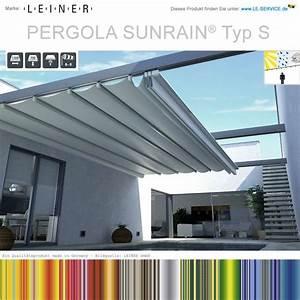 Leiner Pergola Sunrain : leiner pergola sunrain s terrassenfaltdach sonne regen ~ Markanthonyermac.com Haus und Dekorationen