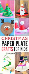 Paper Plate Christmas Crafts | Kindergarten, Craft and ...