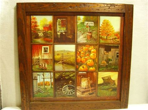 Home Interior Homco Pictures : Vintage Homco Home Interior B Mitchell Window Pane Picture