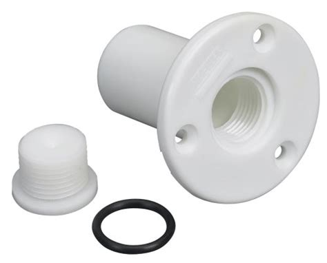 Boat Drain Plug Rot by Moeller Boat Transom Drain Tube With Pipe Plug Hardware