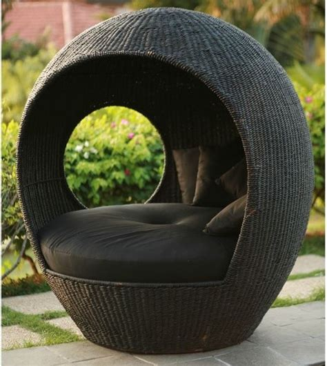 Rattan Meditation Chair Australia by Melon Outdoor Wicker Pod Chair Outdoor Lounge Chairs