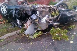 Police photo shows mangled wreckage 'from horror crash ...