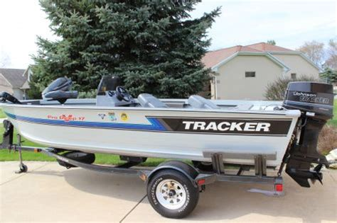 Used Tracker Deep V Fishing Boats For Sale by 1993 Tracker Deep V 17 Fishing Boat For Sale In Valparaiso In