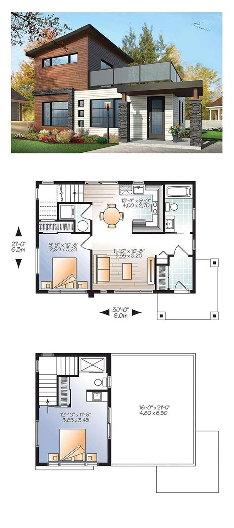 smart placement small house design plan ideas best 25 modern house plans ideas on