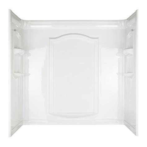 home depot bathtub surround aspiration 30 in x 60 in x 58 1 14 in 3 easy up