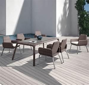 9 Teiliges Gartenmöbel Set : higold monroe 7 teiliges gartenm bel set esstischgruppe ~ Markanthonyermac.com Haus und Dekorationen