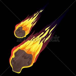 Asteroid clipart comet - Pencil and in color asteroid ...