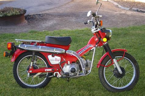 Honda Ct 110 (trail 110 ) With 462 Original For Sale On