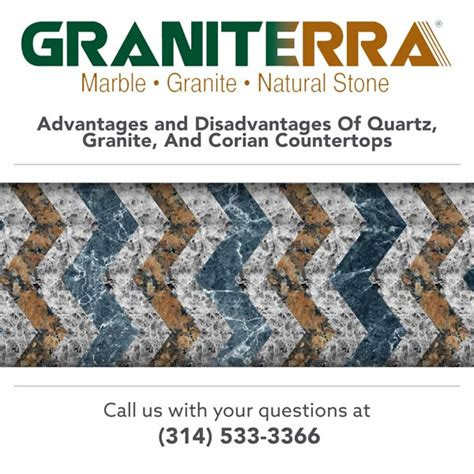 The Pros And Cons Of Quartz, Granite, And Corian Countertops