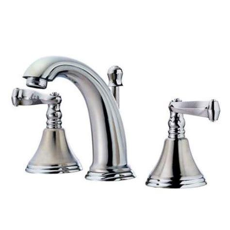 pegasus 2000 series 6 in 12 in widespread 2 handle low arc bathroom faucet in brushed nickel