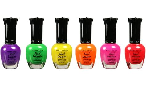 Up To 82% Off On Kleancolor Neon Nail Polish Set
