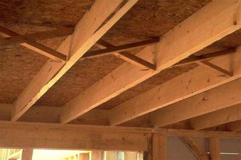 flooring floor joist spacing wood braces floor joist