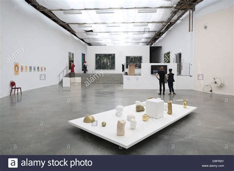 exhibition space museum of modern of the city of palais stock photo royalty free