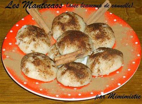 recette de les mantecaos avec beaucoup de cannelle facile rapide et bon