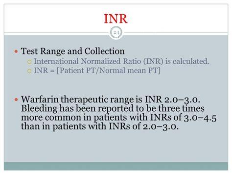 pt inr normal range 28 images blood inr range chart prothrombin time vaughn s summaries