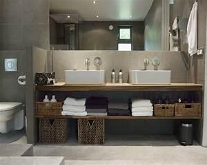 Waschbecken Arbeitsplatte Bad : die 25 besten ideen zu badezimmer auf pinterest badezimmer umbau neues bad und wandfliesen bad ~ Markanthonyermac.com Haus und Dekorationen