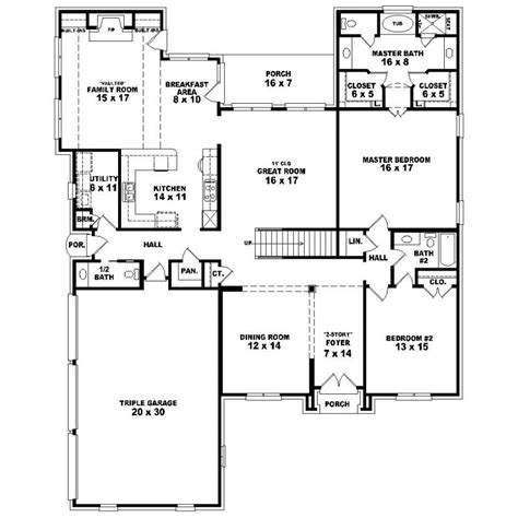 3 br 2 5 ba house plans ideas house plans and design house plans two story 5 bedroom