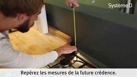 fixer une cr 233 dence alu inox dans la cuisine