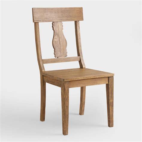 wood deighton dining chairs set of 2 world market