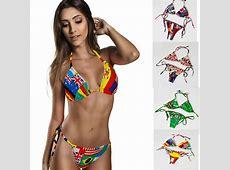2015 Lady Bikini Union Jack Flag Swimwear UK Stars Stripes