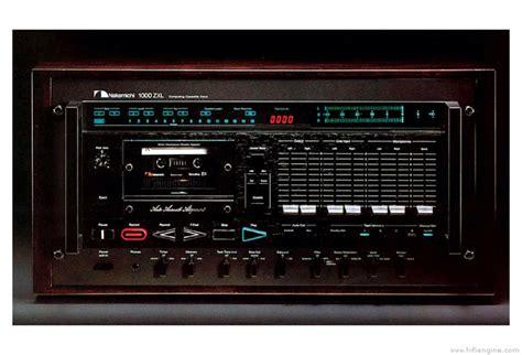 nakamichi 1000zxl manual three stereo cassette