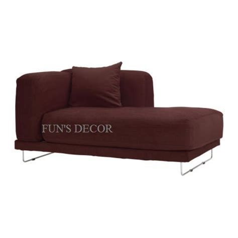 new ikea tylosand right chaise lounge cover slipcover everod