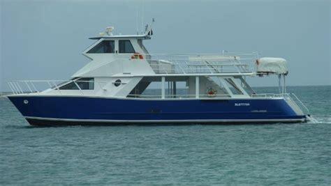 Used Power Catamaran Fishing Boats by 1994 Used Usa Catamarans Power Catamaran Boat For Sale